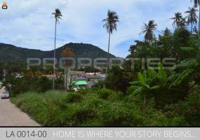 Properties Away 2 Rai Mountain View Land in Koh Samui - Lamai