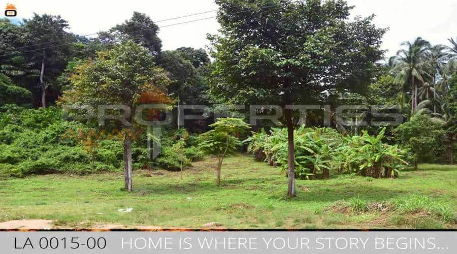 Properties Away 6 Rai Flatland in Koh Samui - Lamai