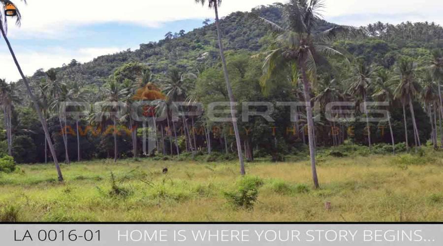 Properties Away 26 Rai Flatland on the Main Road Koh Samui - Lamai