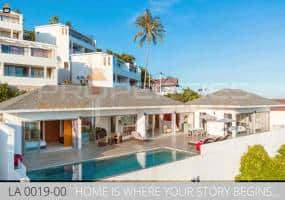 PROPERTIES AWAY  3 BEDROOM SUNRISE SEAVIEW VILLA WITH POOL KOH SAMUI - LAMAI