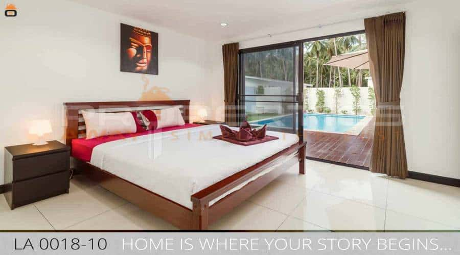 PROPERTIES AWAY  3 BEDROOM JUNGLE VILLA WITH POOL KOH SAMUI - LAMAI
