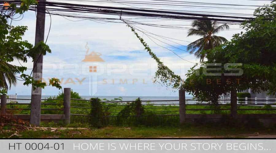 Properties Away 780 sqm Flatland on the Beach Koh Samui - Hua Thanon