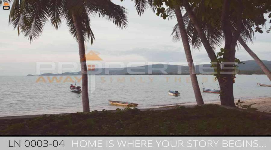 Properties Away 1416 sqm  Beachland with House Koh Samui - Lipa Noi
