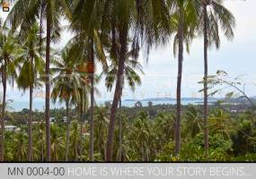 Properties Away 4 Rai Hill Land with Seaview  Koh Samui - Lamai