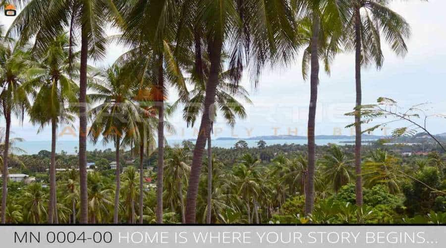 Properties Away 4 Rai Hill Land with Seaview  Koh Samui - Lamai