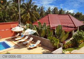 PROPERTIES AWAY ELEGANT BEACHFRONT VILLA WITH POOL KOH SAMUI - CHOENG MON
