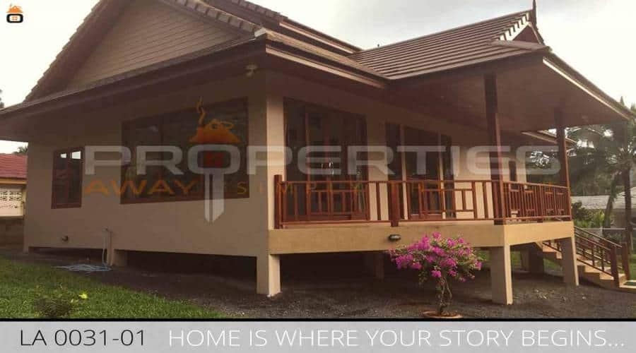 PROPERTIES AWAY 2 BEDROOM HOUSE WITH GARDEN KOH SAMUI - LAMAI