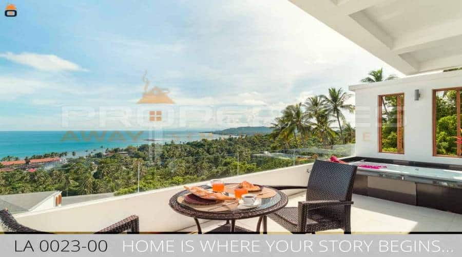 PROPERTIES AWAY 1 BEDOOM SEA VIEW APARTMENT (JACUZZI) KOH SAMUI - LAMAI