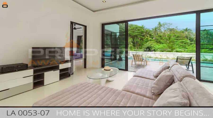 PROPERTIES AWAY 3 BEDROOM VILLA WITH PRIVATE POOL KOH SAMUI - LAMAI