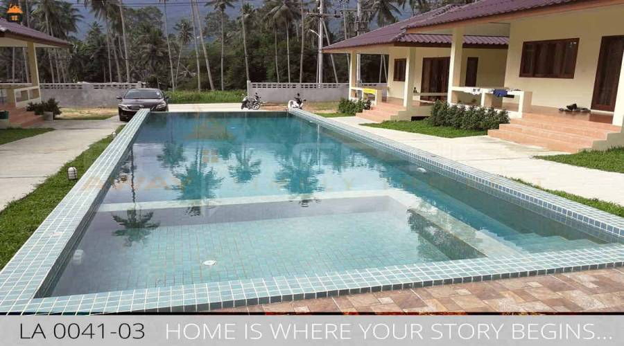 PROPERTIES AWAY 1 BEDROOM QUIET JUNGLE HOUSE WITH SHARED POOL KOH SAMUI - LAMAI