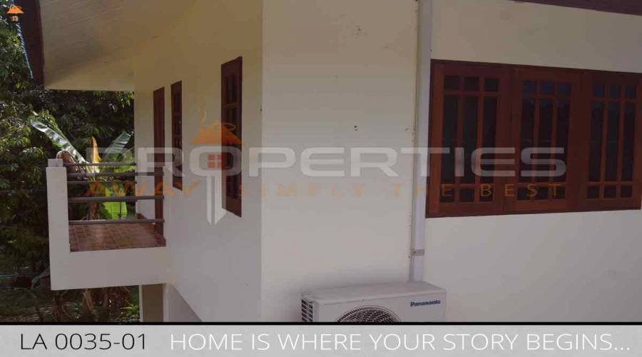 PROPERTIES AWAY 1 BEDROOM  HOUSE IN GREEN GARDEN KOH SAMUI - LAMAI