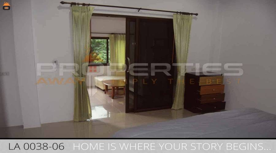 PROPERTIES AWAY 1 BEDROOM HMODERN HOUSE WITH BALCONY IN GREEN AREA - LAMAI