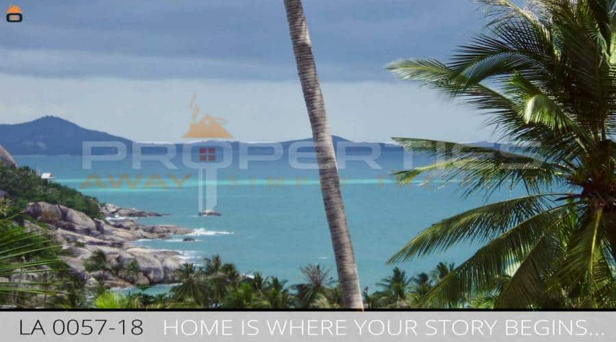 Big spacious house in a stylish design with sea view for Sale in Lamai