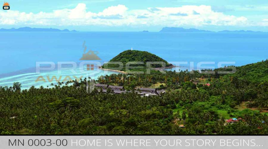 Properties Away 6 Rai Seaview Land in  Koh Samui - Maenam