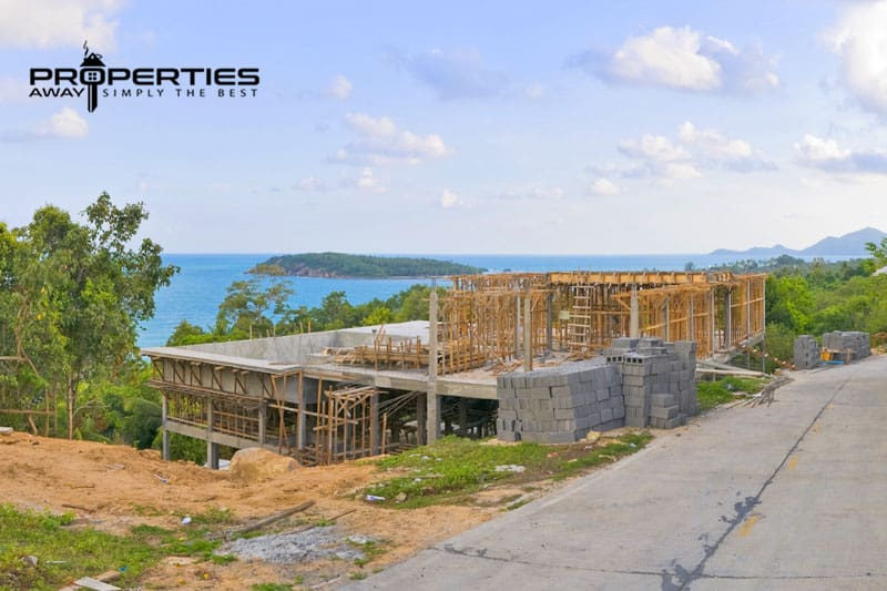 building regulations koh samui land development properties away