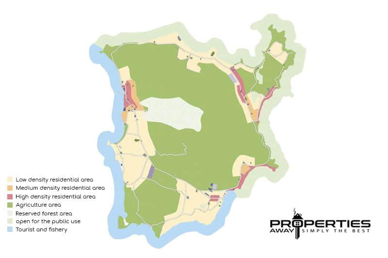 koh samui development zoning map properties away