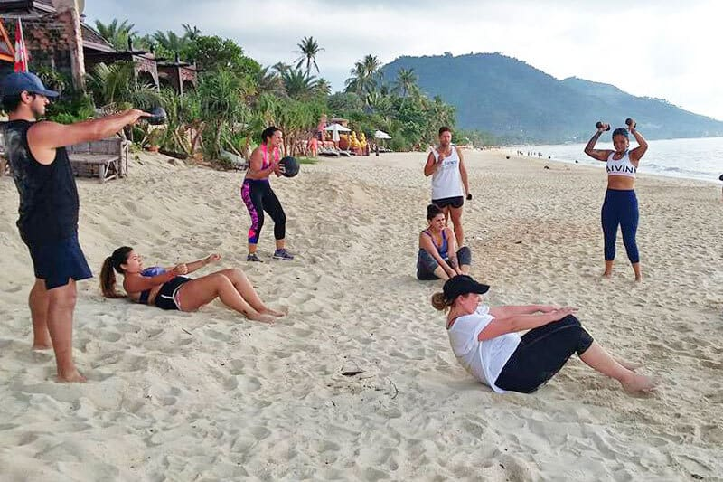 koh_samui_yoga_retreat_beach_workout