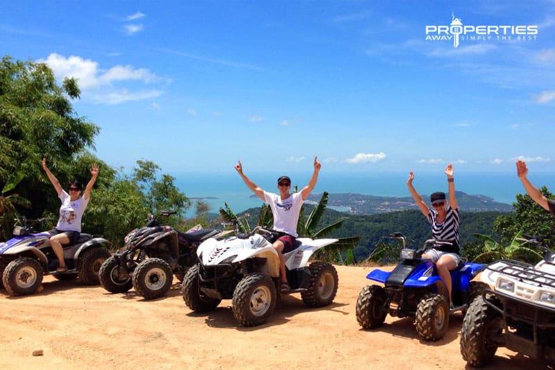 Properties Away Koh Samui Day Trips ATV Tour
