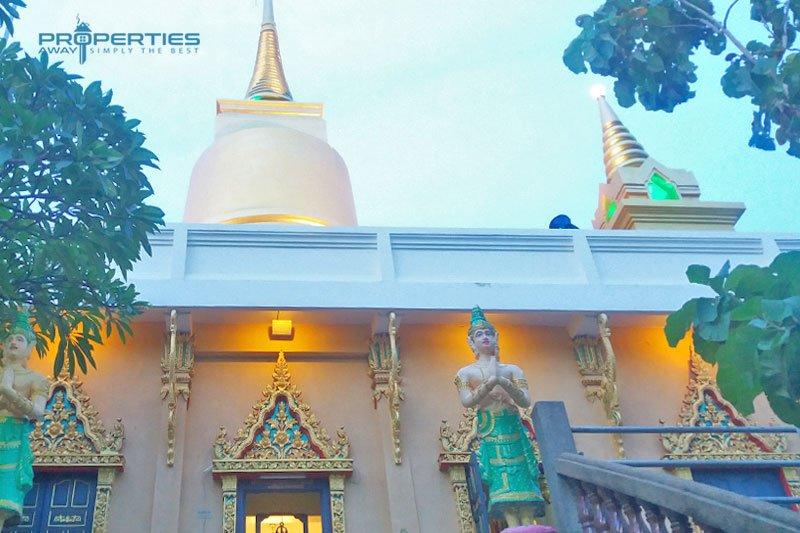 Properties Away Koh Samui Temples Khao Hua Jook Pagoda