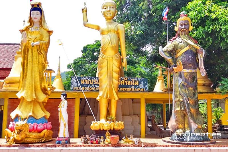 Properties Away Koh Samui Temples Wat Lamai