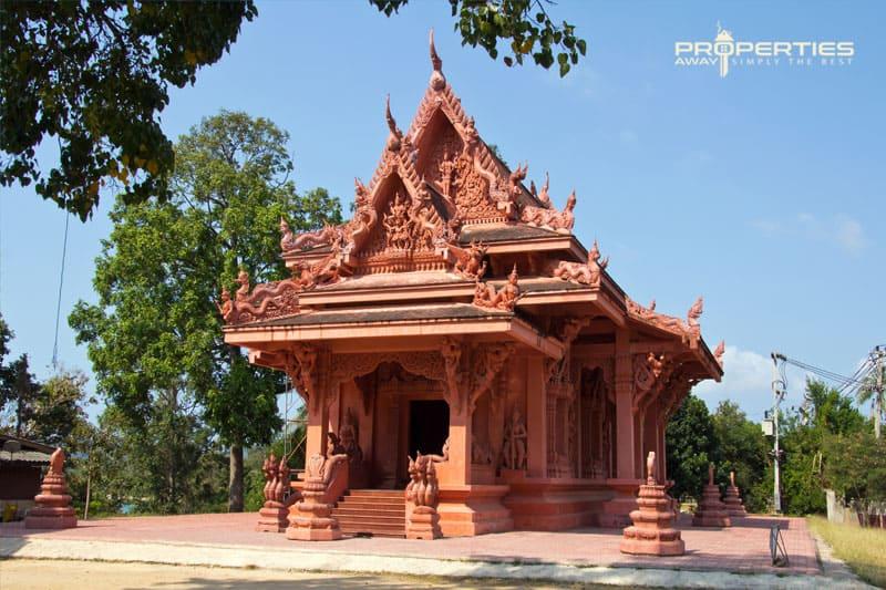 Properties Away Koh Samui Temples Wat Sila Ngu