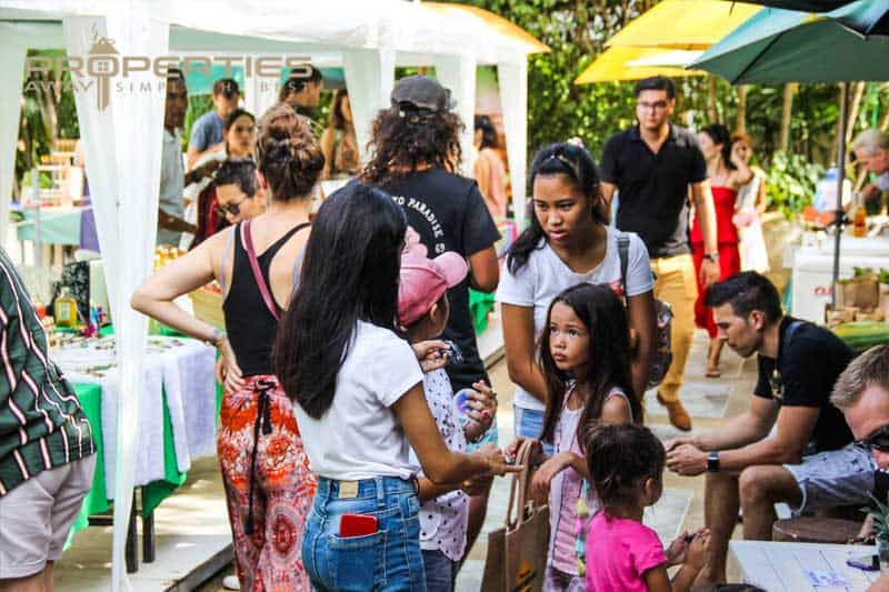 properties away koh samui top event green market