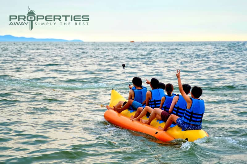 properties away koh samui water sport banana boat