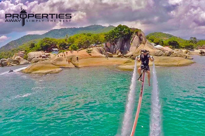 properties away koh samui water sport jetpack