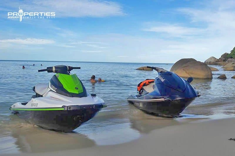 properties away koh samui water sport jetski safari