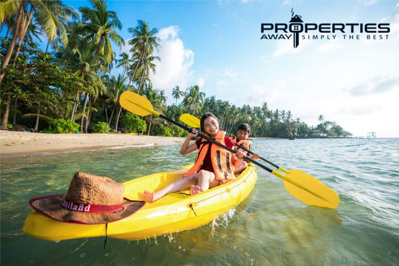 properties away koh samui water sport kayaking