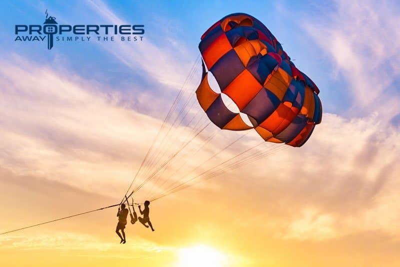 properties away koh samui water sport parasailing