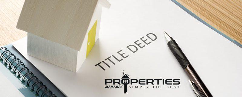 Properties Away Land Title Deed Real Estate