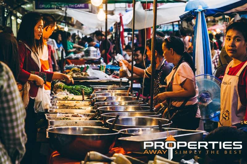 Properties Away Street Markets on Koh Samui - Walking Street Chaweng