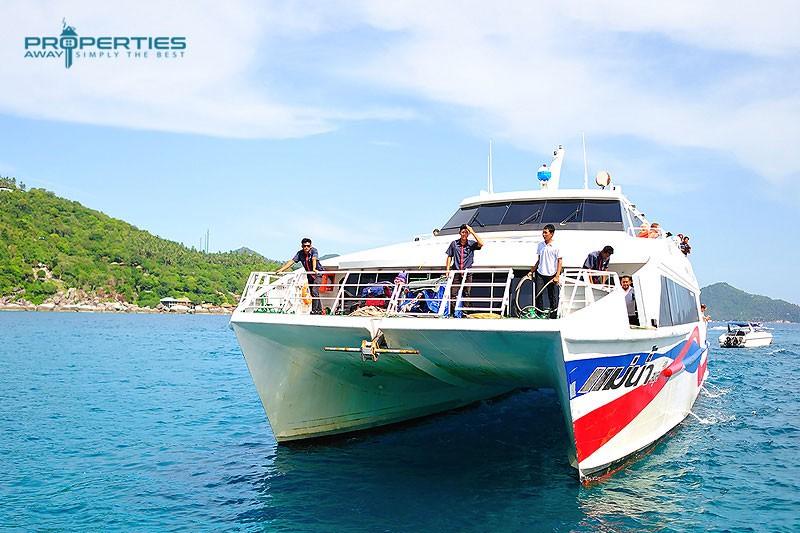 Properties Away Transportation Koh Samui Boat